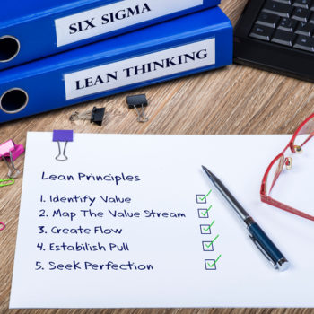 Lean Thinking, Six Sigma, Principles Of Lean