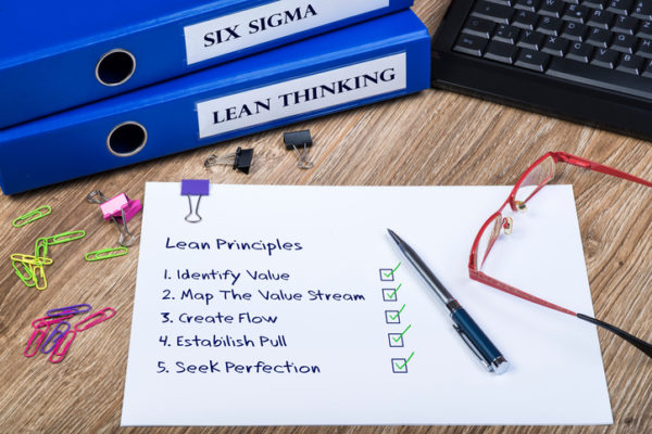 Lean Thinking, Six Sigma, Principles Of Lean