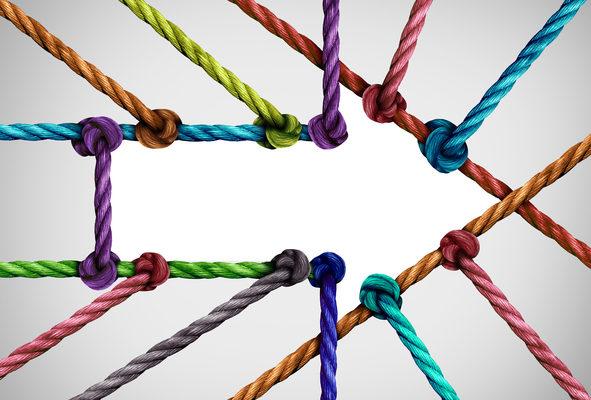 Success Arrow Connection