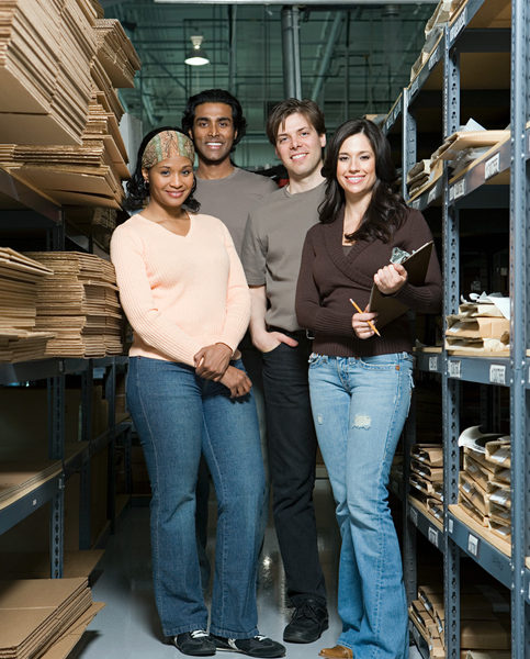 Supply chain workers