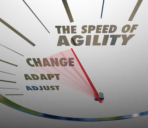 Speed of Agility Speedometer Quick Change Adaptation